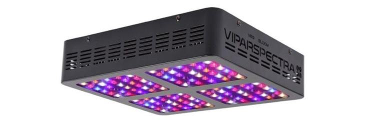 VIPARSPECTRA Reflector-Series 600W LED Grow Light Full Spectrum for Indoor Plants Veg and Flower