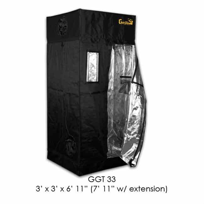 Best Grow Tent - Gorilla Grow Tent GGT33