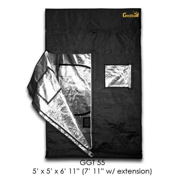 Best Grow Tent - Gorilla Grow Tent GGT55