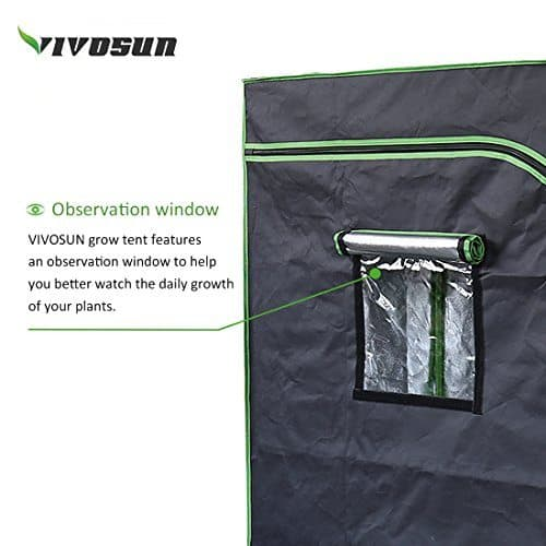 VIVOSUN Grow Tent Observation Window
