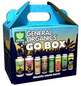 General Organics Go Box Nutrients