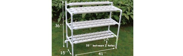 Hydroponic Site Grow Kit 90 Site Ebb And Flow Deep Water Culture Garden  System With Nest