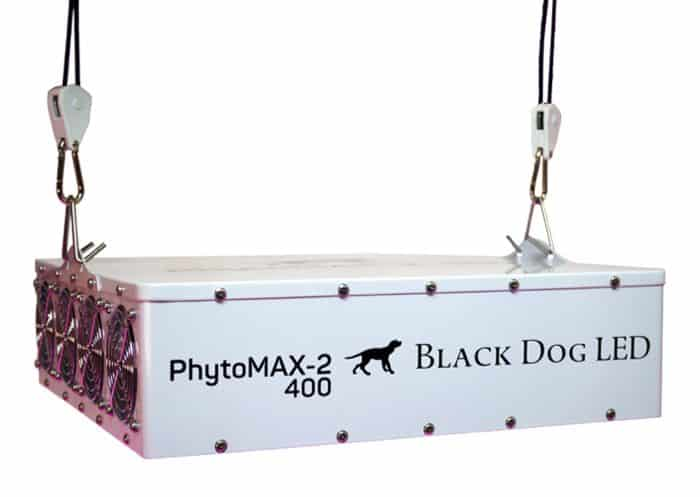 Black Dog LED PhytoMAX-2 400 Grow Lights | High Yield Full Spectrum Indoor Grow Light with BONUS Quick Start Guide