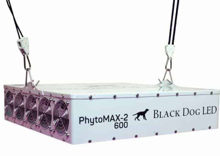Black Dog LED PhytoMAX-2 600 Grow Lights | High Yield Full Spectrum Indoor Grow Light with BONUS Quick Start Guide